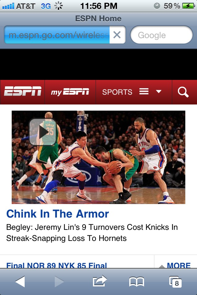 ESPN s racist headline to Knicks loss using image of Jeremy Lin ... 6c9332c5c