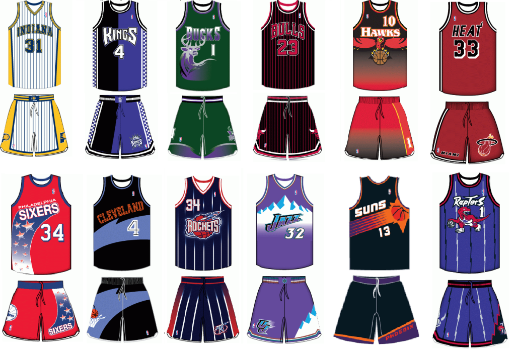 NBA teams are going to 1990s throwbacks this upcoming ...