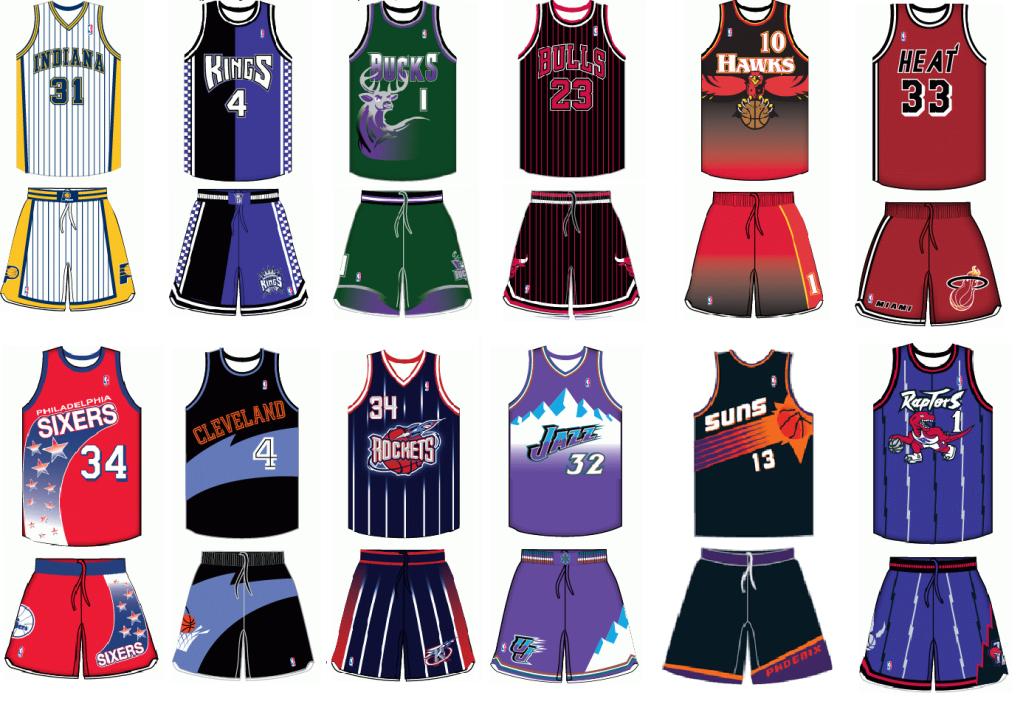 Jersey NBA Team Logo