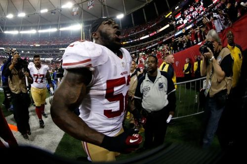 Patrick Willis and the 49ers are going to the Super Bowl!