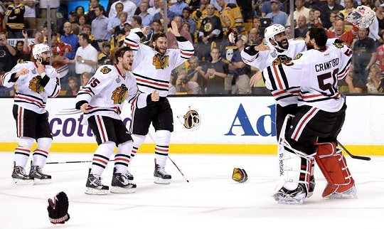 The Blackhawks are champions again!