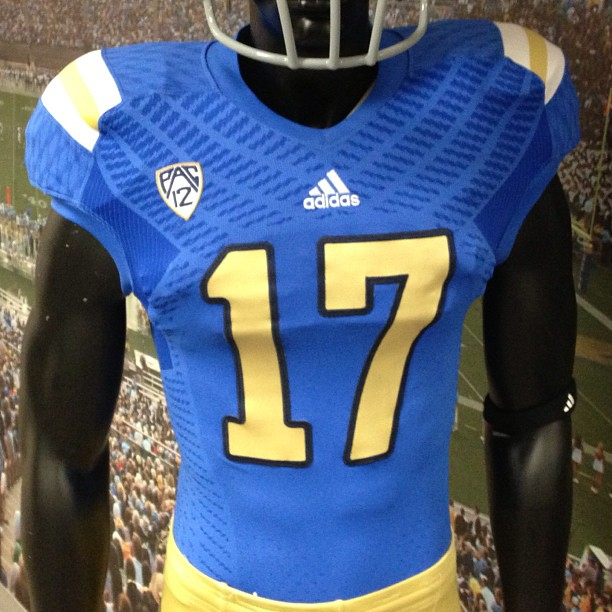 Looks like UCLA's new uniforms are trying too hard.
