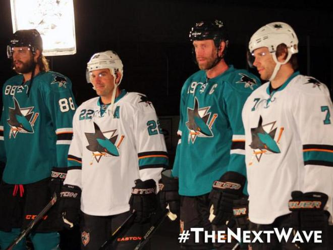 The new look for the Sharks.