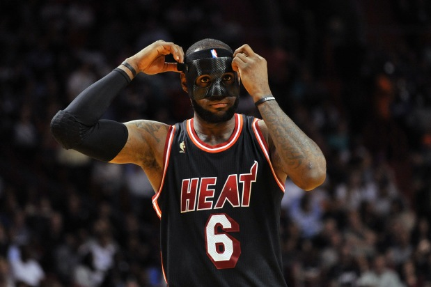 LeBron James May Have To Ditch Black Mask Due to NBA Crackdown
