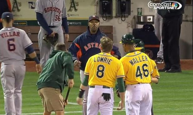 Unwritten rules lead to hard feelings in Astros-A's game