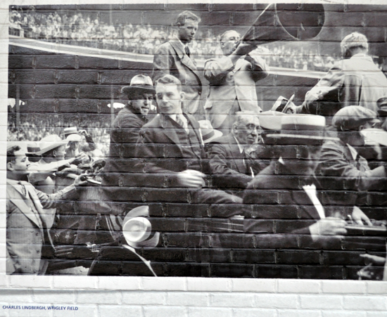 Wrigley Field mural accidentally uses an image of ComiskeyPark