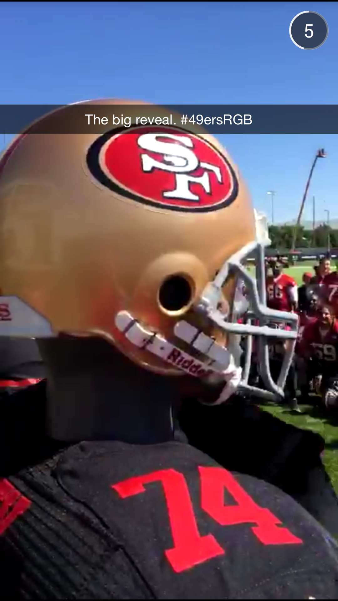 1afae513767 49ers unveil new black alternate jersey on Snapchat  black pants also  included