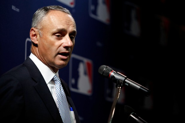 Rob Manfred says MLB will re-evaluate fan safety